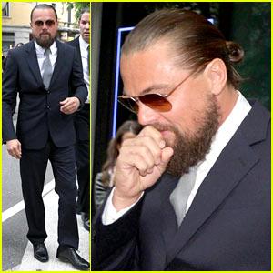 Leonardo DiCaprio Suits Up in Italy for Giorgio Armani!