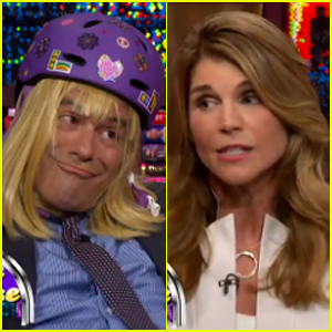 Lori Loughlin Reenacts 'Full House' Scene with Andy Cohen as Michelle Tanner - Watch Now!