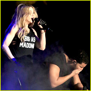 Drake Responds to Madonna Kiss: 'Don't Misinterpret My Shock!'