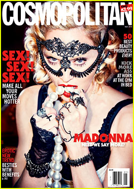 Madonna Is All About Sex for Cosmo's 50th Anniversary Issue