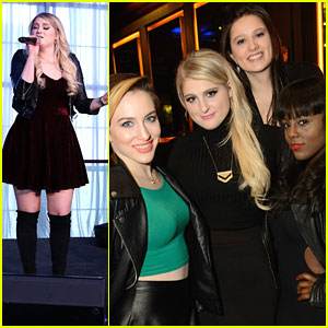 Meghan Trainor Performs For Full Beauty Brands' Launch Event