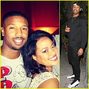 Michael B. Jordan & Sis Jamila Have Same Sweet Smile - See the Pic!