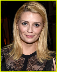 Mischa Barton Suffers Nip Slip in Front of Martin Sheen