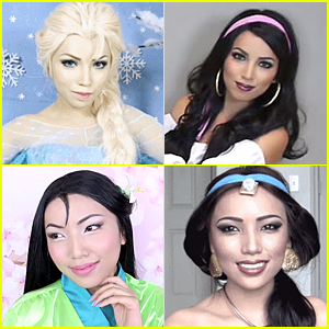 Watch This Woman Transforms Into 15 Disney Characters