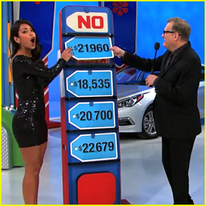 'Price is Right' Model Manuela Arbelaez Gives a Car Away By Mistake - Watch Now!