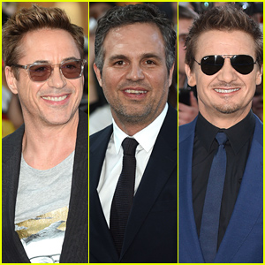 Robert Downey, Jr. & 'Avengers' Co-Stars Assemble at the European Premiere!