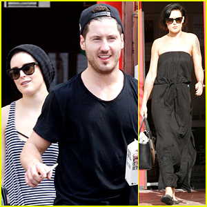 Rumer Willis & Val Chmerkovskiy Show Off Their 'Dancing with the Stars' Skills on 'Ellen' Today!