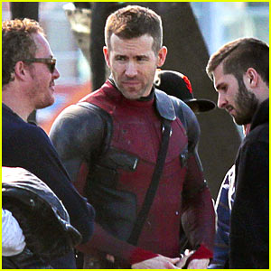 Ryan Reynolds Goes Unmasked in Latest 'Deadpool' Set Pics!
