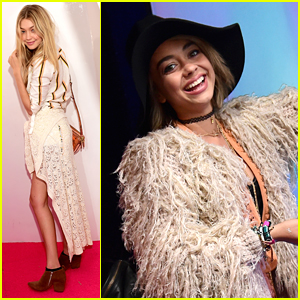Sarah Hyland & Gigi Hadid Love H&M Like H&M Loves Coachella - See Pics From The Party!