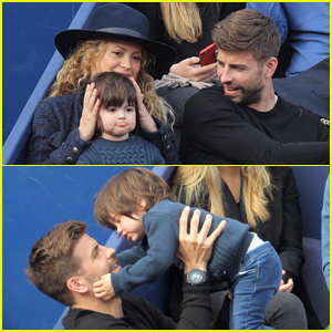Shakira & Gerard Pique Are So Cute with Their Son Milan!