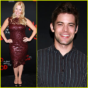 Smash's Megan Hilty Stuns on First Post-Baby Red Carpet!
