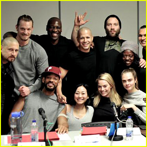 'Suicide Squad' Cast Takes Group Photo at the Table Read!