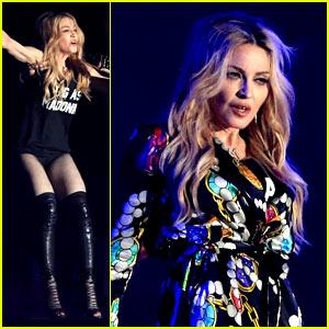 Watch Madonna's Full Surprise Performance at Coachella 2015