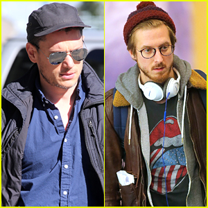 Wentworth Miller Arrives In Vancouver With Arthur Darvill For 'Flash/Arrow' Spinoff