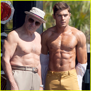 Zac Efron & Robert De Niro Have a Shirtless Body Contest in These Unbelievable Pics!