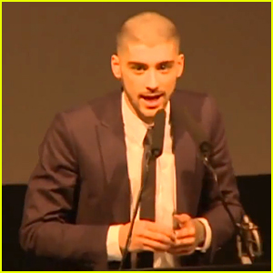Zayn Malik Thanks One Direction In Asian Awards Acceptance Speech (Video)