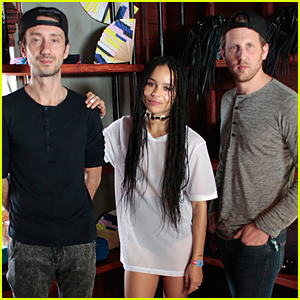 Zoe Kravitz & Lolawolf Host Sandro x Yoko Honda Brunch at Coachella