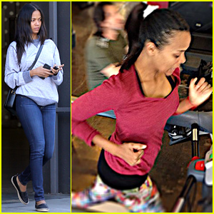 Zoe Saldana Details the Difficulty of Losing Pregnancy Weight in Note to Fans