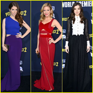 Anna Kendrick & Hailee Steinfeld Look Aca-Perfect At 'Pitch Perfect 2' Premiere