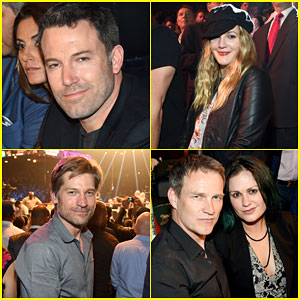 Ben Affleck & Drew Barrymore Sit Ringside at Mayweather Vs. Pacquiano