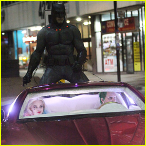 Ben Affleck's Batman Chases After Jared Leto's Joker in New 'Suicide Squad' Set