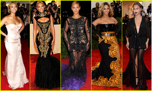 Looks de Gala Beyonce's Met Gala Looks Have