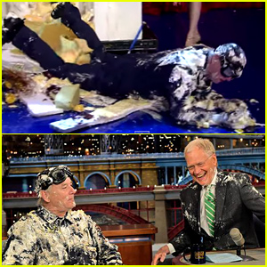Bill Murray Pops Out of a Cake For David Letterman's Second-to-Last 'Late Show' (Video)
