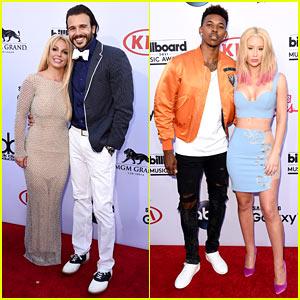 Britney Spears & Iggy Azalea Bring Boyfriends to Billboard Music Awards 2015!