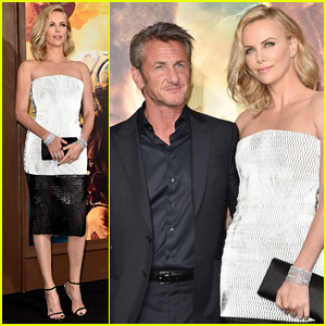 Charlize Theron & Sean Penn Couple Up for 'Mad Max' Premiere