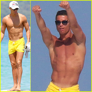 Cristiano Ronaldo's Shirtless Dance Moves Are a Must See!