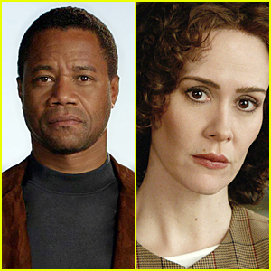 Cuba Gooding Jr. & Sarah Paulson in New 'American Crime Story' Portraits
