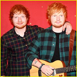 Ed Sheeran Is Glad That His Wax Figure Has a Bulge
