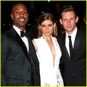 Michael B. Jordan, Kate Mara, & Jamie Bell Have a 'Fantastic' Night Partying After Met Gala 2015