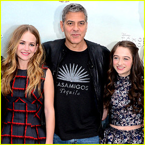 George Clooney's Co-Star Britt Robertson Talks Working with the Mega Star!