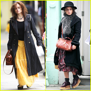 Helena Bonham Carter Puts Unique Style on Full Display in London!
