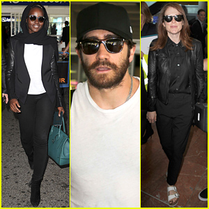 Lupita Nyong'o, Jake Gyllenhaal & More Arrive for Cannes Film Festival 2015!