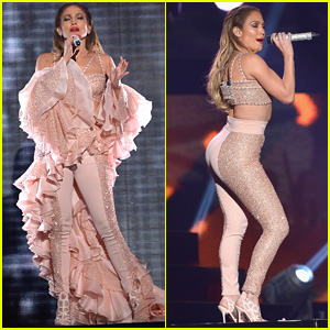 Jennifer Lopez Sings Beautiful Tribute to Selena at Billboard Latin Music Awards 2015 (Video)