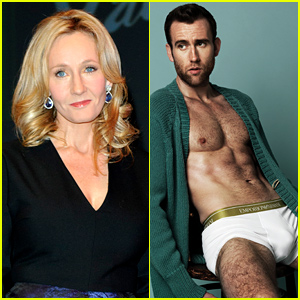 J.K. Rowling & Matthew Lewis Have the Best Twitter Exchange After His Sexy Photo Shoot