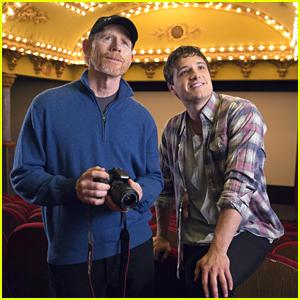 Josh Hutcherson & Ron Howard Tour Budapest Ahead Of Canon's Imagination Project Finalist Announcement