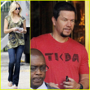 Kate Hudson & Mark Wahlberg Continue 'Deepwater Horizon' Filming in New Orleans