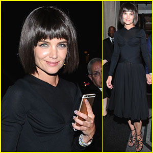 Katie Holmes Changes It Up For Met Gala After Party