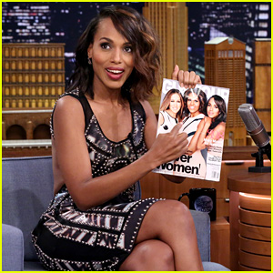 Kerry Washington Plays Lip Flip Game With Jimmy Fallon (Video)