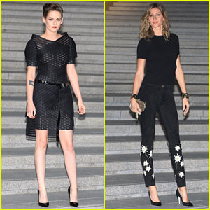 Kristen Stewart & Gisele Bundchen Skip Met Gala for Fashion Show in South Korea
