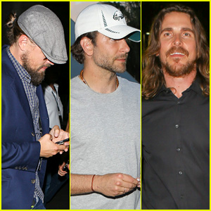 Leonardo DiCaprio, Bradley Cooper, & Christian Bale All Hit Vegas for Floyd Mayweather vs. Manny Pacquiao