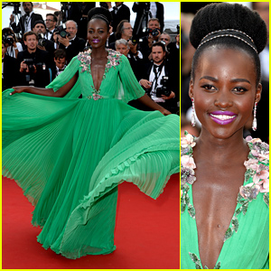 Lupita Nyong'o Twirls Around the Red Carpet at Cannes 2015 Opening Ceremony