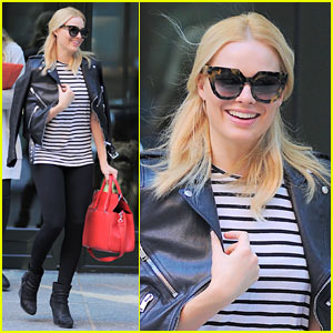 Margot Robbie Takes New York City During 'Suicide Squad' Downtime