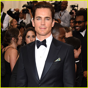 Matt Bomer is the Epitome of Handsome at Met Gala 2015