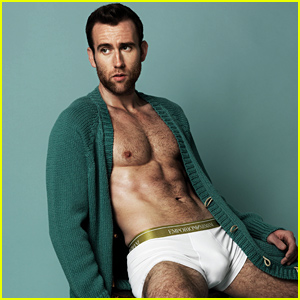 'Harry Potter' Hottie Matthew Lewis Goes Almost Naked in Underwear For This Sexy Shoot!