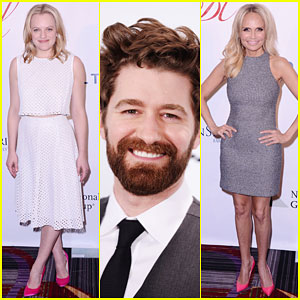 Matthew Morrison & Elisabeth Moss Hit Up the Drama League