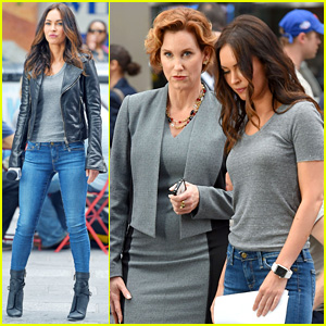 Megan Fox is Joined by Original April O'Neil Judith Hoag on 'TMNT 2' Set